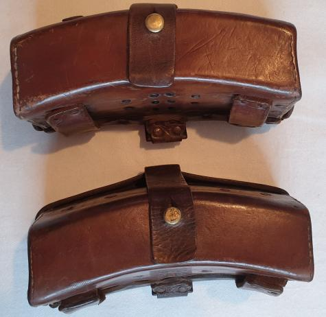 UNIQUE -  Dutch M95 'Bloktas' set and waist belt (all with Identical numbers)